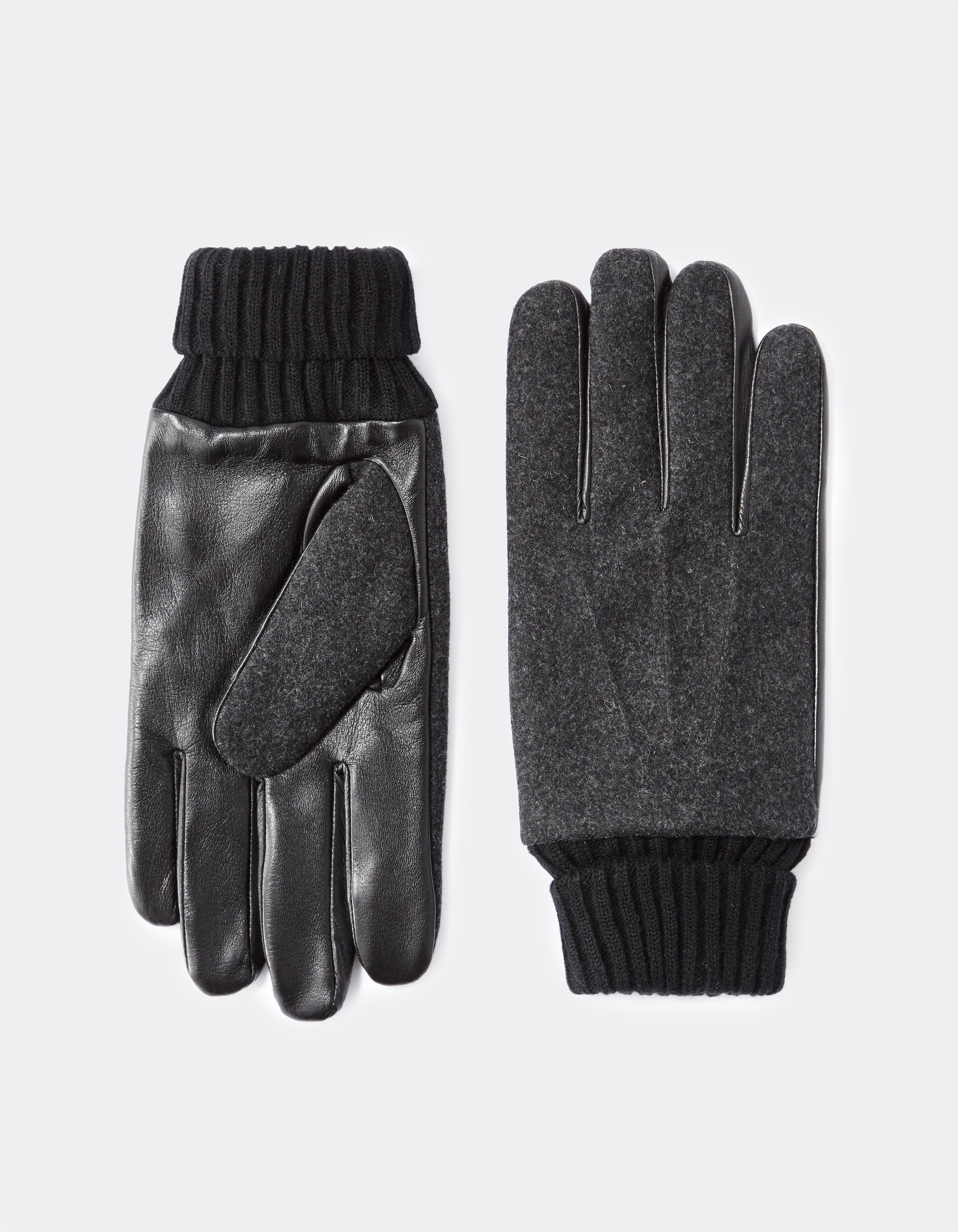 Gants en laine mélangée – gris Prix 29,99 €