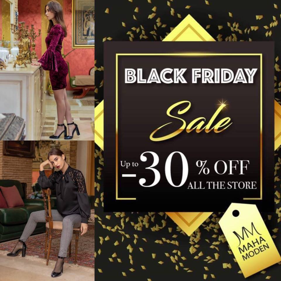 MAHA MODEN COUTURE – Black Friday