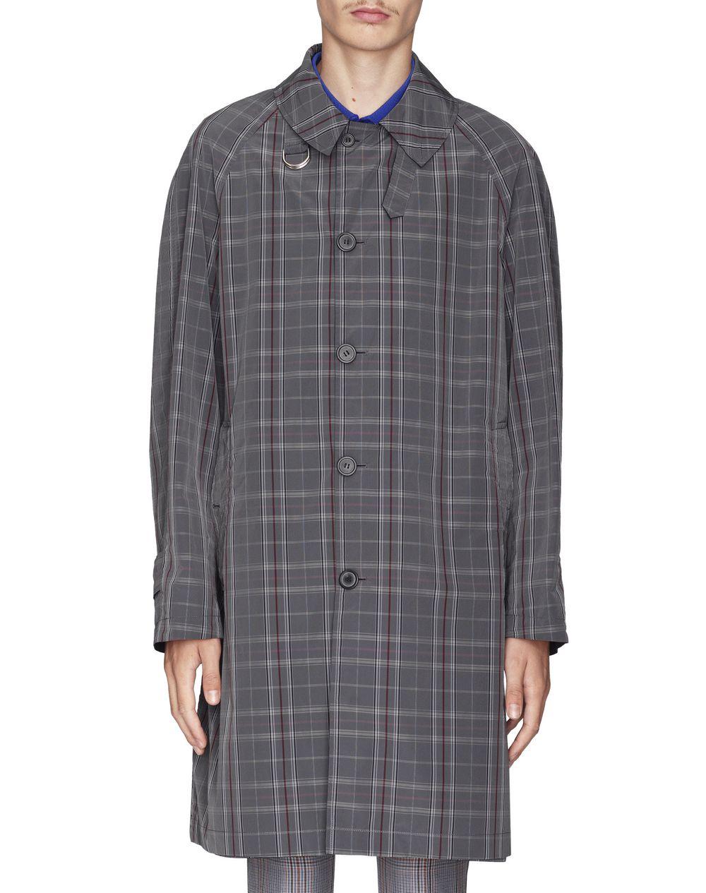 Manteau réversible gris foncé et bleu à carreaux Lanvin Prix €1 495