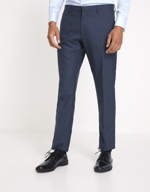 Pantalon Beris 100% laine italienne – bleu Celio Club Prix 39,99 €