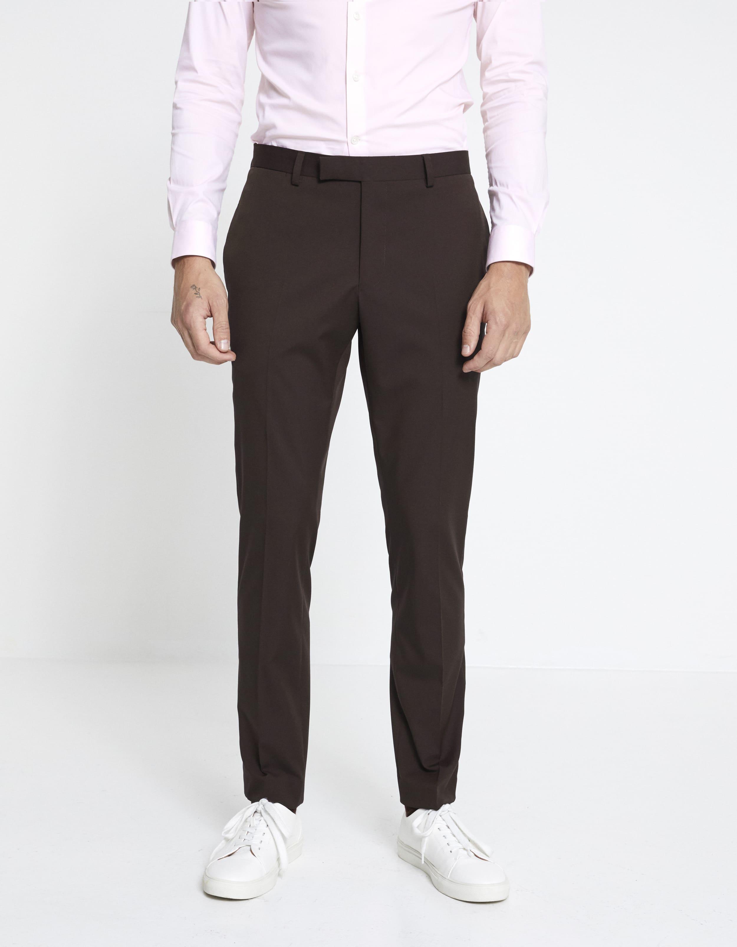 Pantalon Skinny extra slim – bordeaux Celio Club Prix 59,99 €