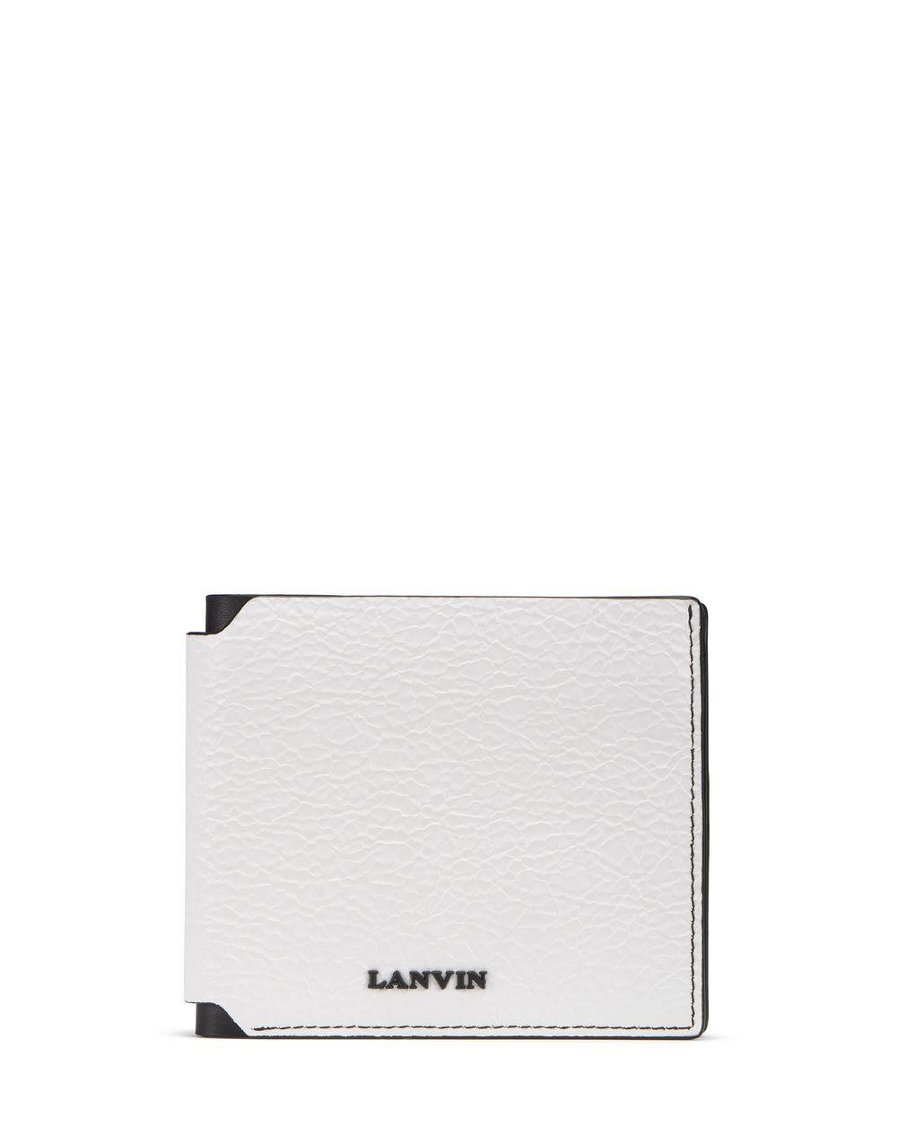 Portefeuille plat en cuir Lanvin Prix €275