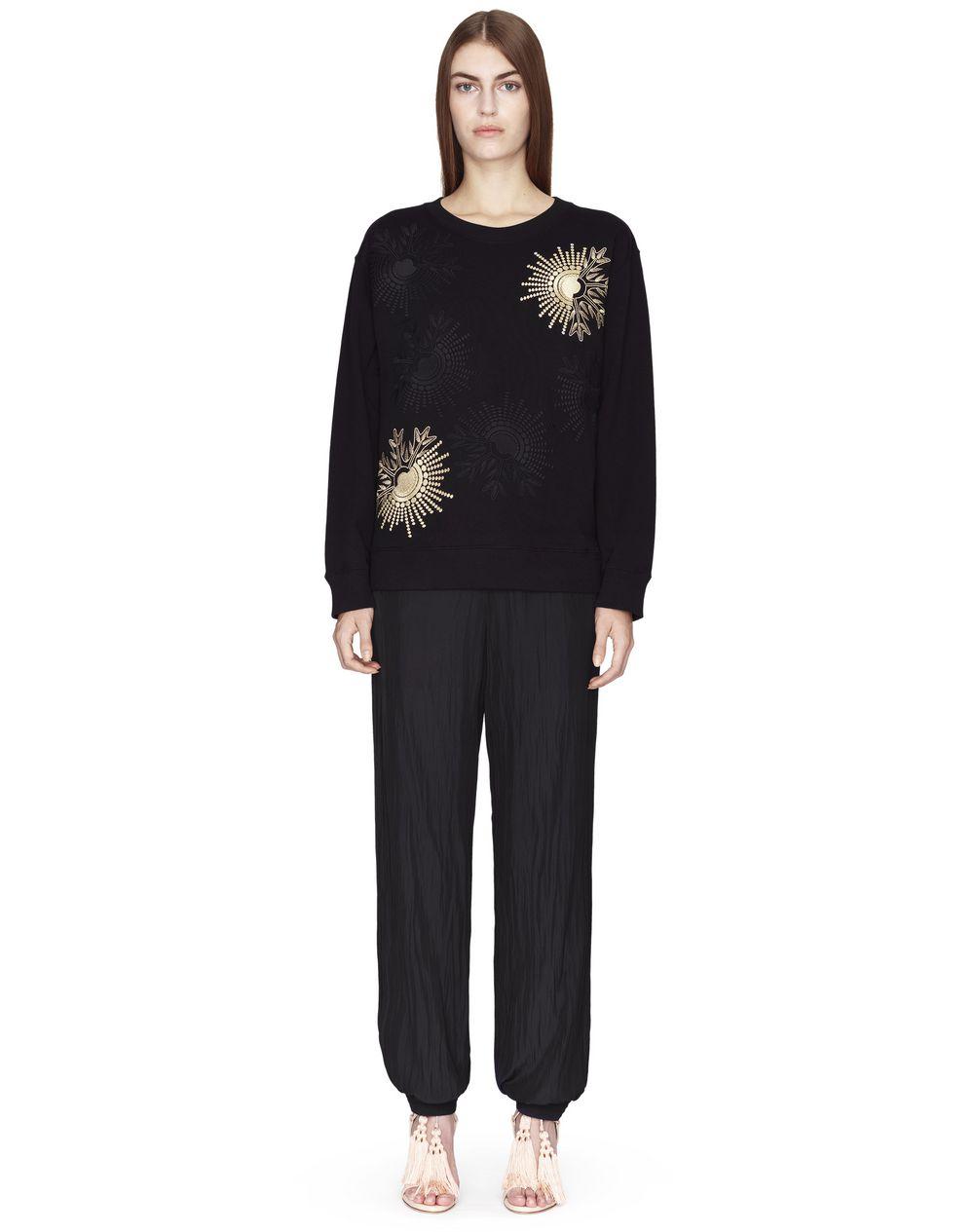 Pull en jersey de coton tricoté noir, Lanvin – Prix €650