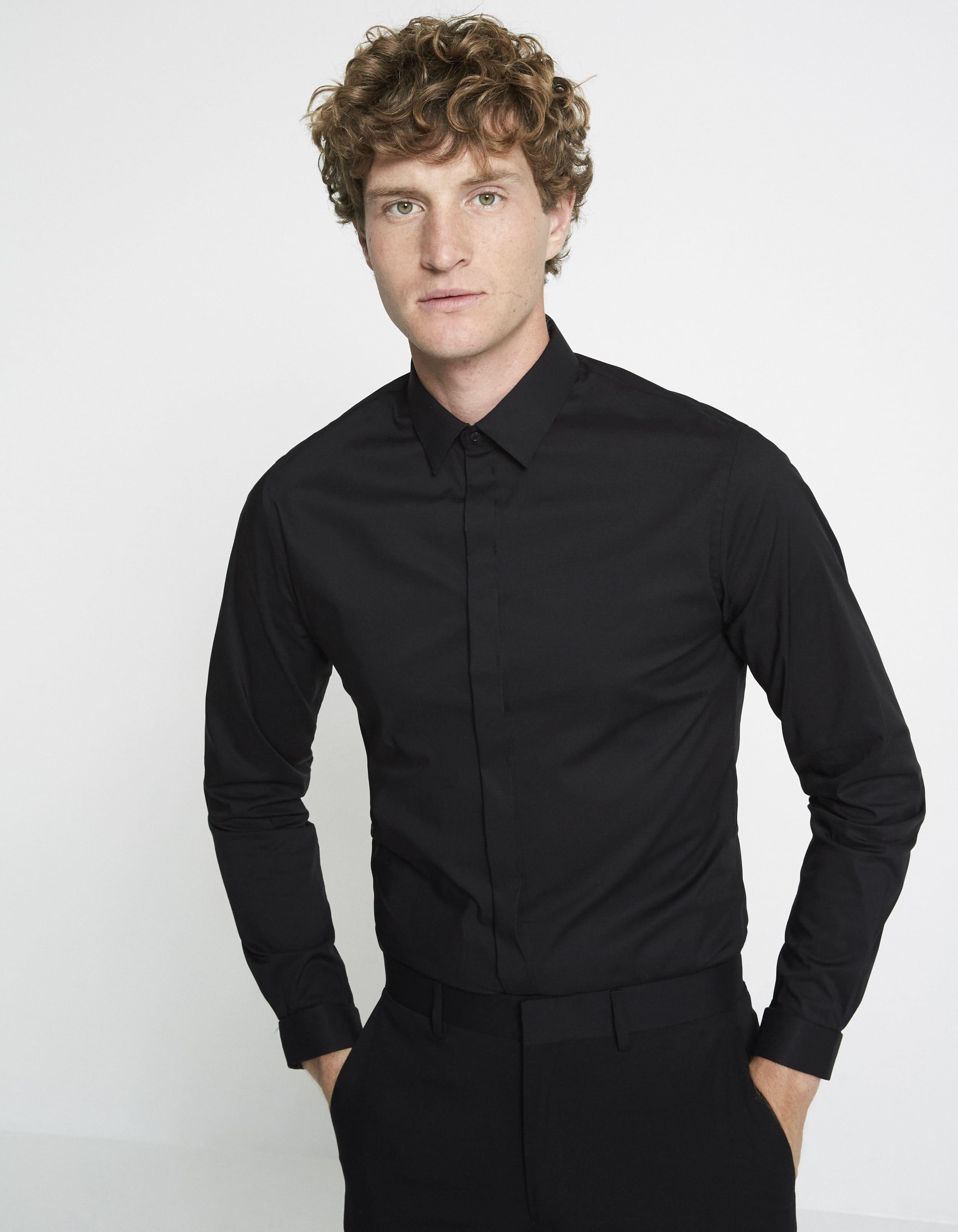 chemise extra slim stretch unie Celio Club Prix 29,99 €