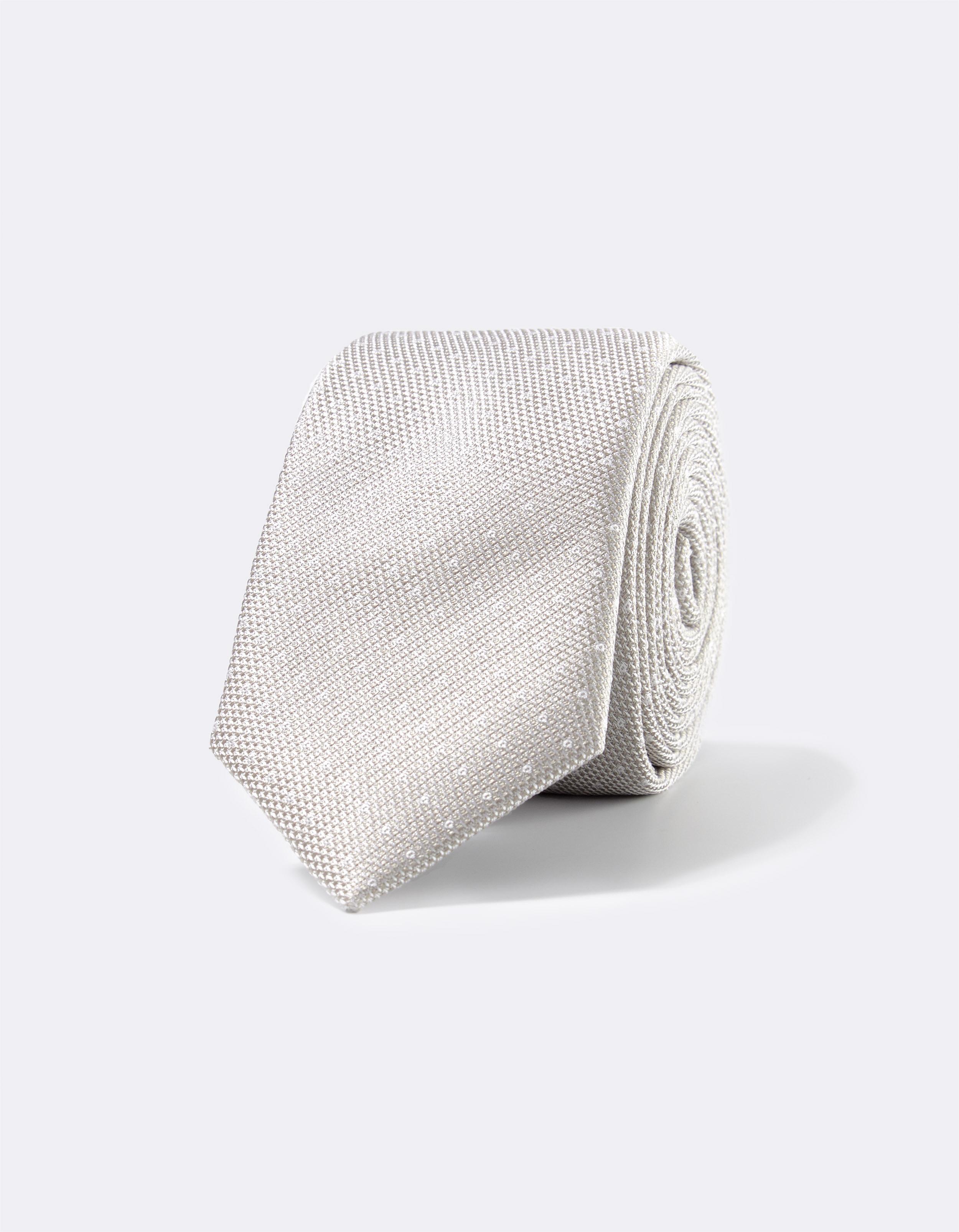 cravate 100% soie micro dessin Celio Club Prix 29,99 €