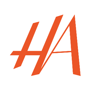 Logo hamadi abid ( HA )