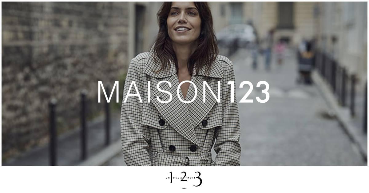Véritable institution depuis 1983, la maison 123 évolue aujourd'hui de l'esprit tayloring vers des pièces iconiques toujours plus Mode.