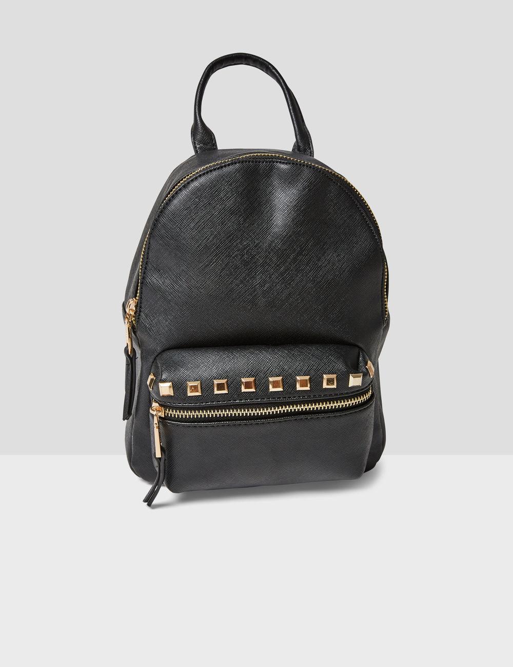 petit sac à dos clouté noir Jennyfer prix 19,99 €