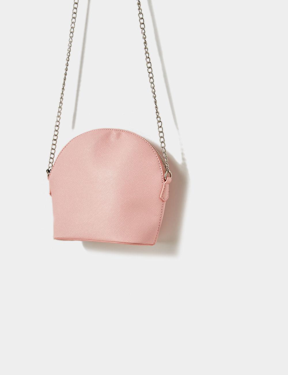 sac bandoulière rose clair Jennyfer prix 9,99 €