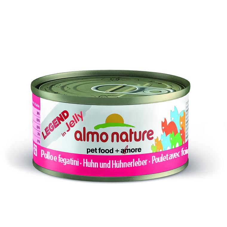 Boîte pour chat Almo nature poulet et foie 70 g BOTANIC Prix 1.39 €