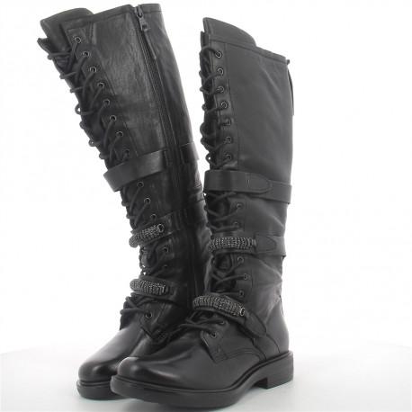 Bottes en cuir noir Mjus 544710-101 Hylton Prix 199,00 €