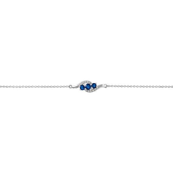 Bracelet Or Et Saphir histoire d'or Prix 189 €