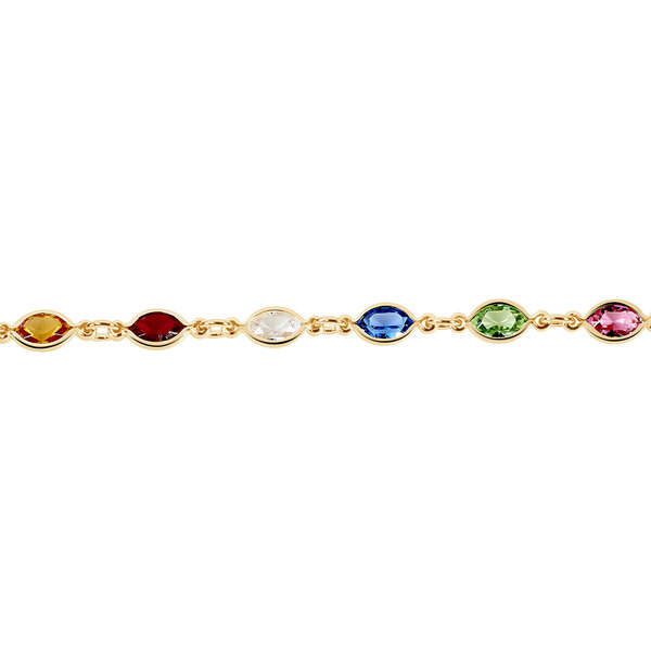 Bracelet Plaqué Or histoire d'or Prix 49 €