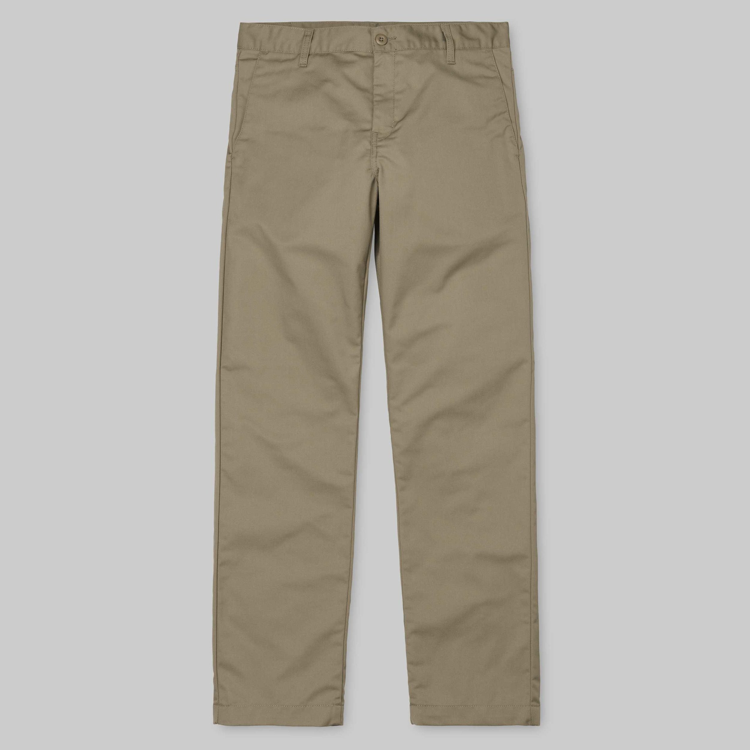 CARHARTT – STATION PANT – LEATHER RINSED SLIDE Prix 79.00€