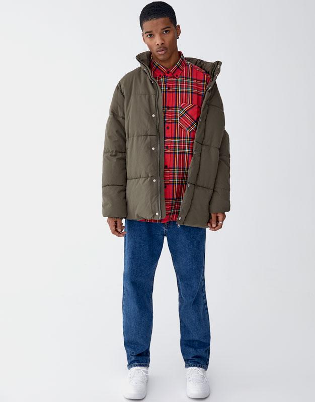 Chemise à carreaux tartan Pull&Bear Prix 79.90 TND