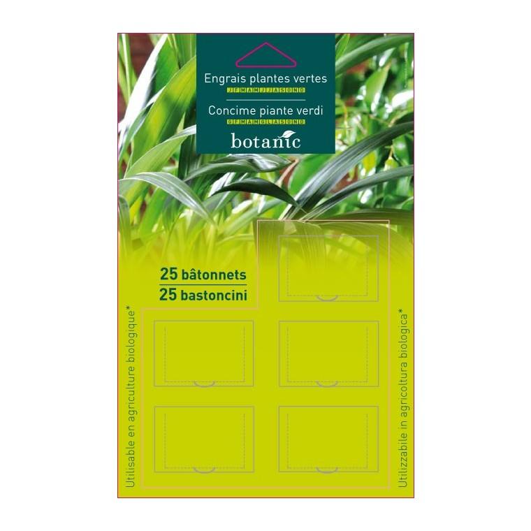 Engrais batonn4.95 €et plantes vertes BOTANIC
