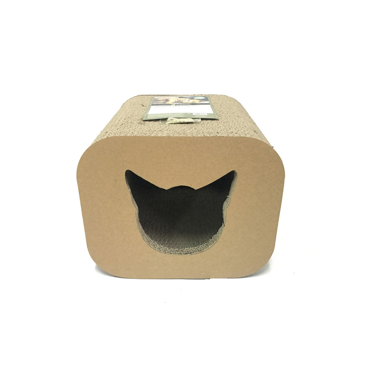 Griffoir pour chat Scratcher Cat head Box 30x30x25 cm BOTANIC Prix 17.90 €