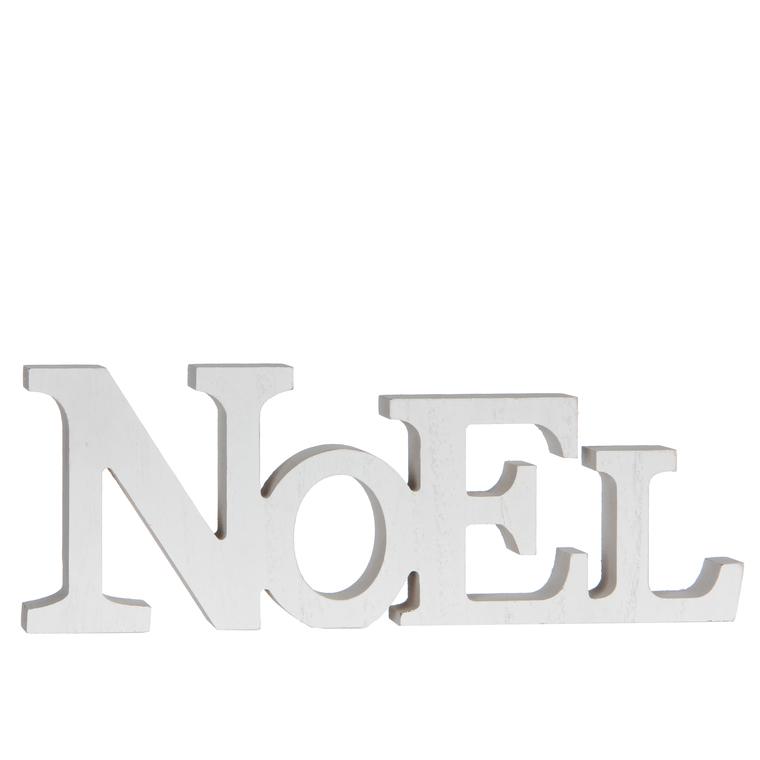 Lettres NOEL décoratives blanches H 10cm BOTANIC Prix 4.99 €