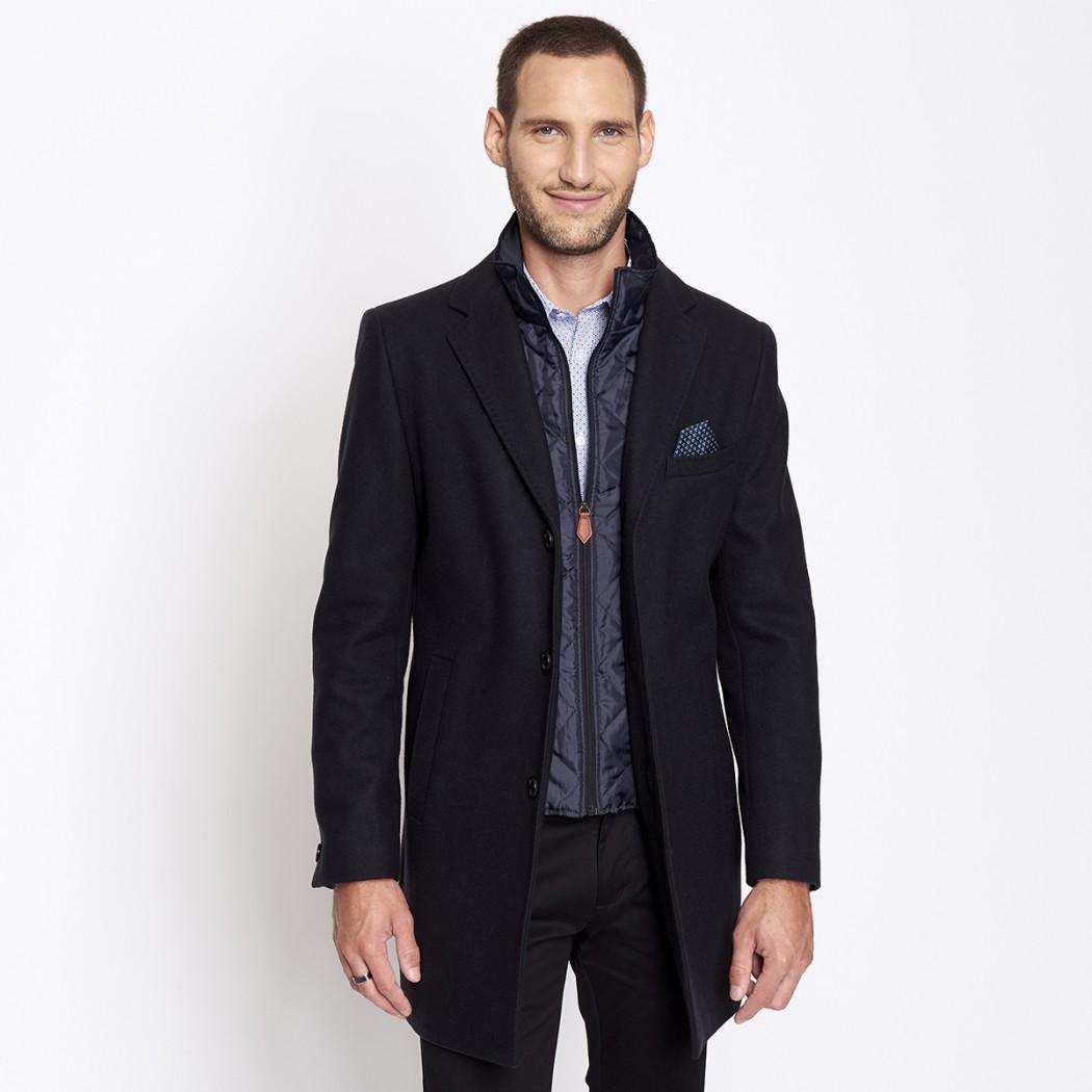 Manteau en drap de laine Homme DEVRED Prix 169,99 €