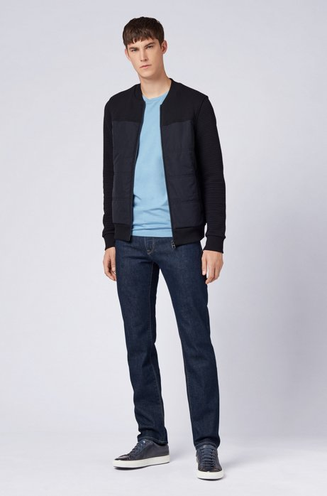 Regular-fit jeans in Italian stretch denim HUGO BOSS