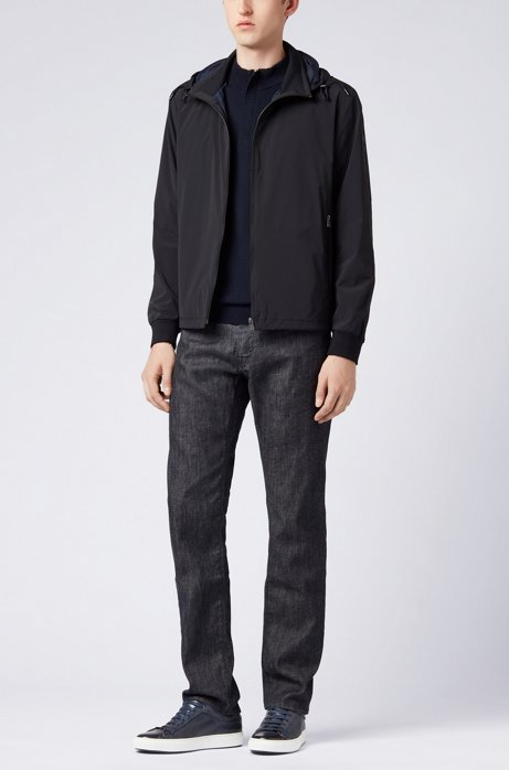 Regular-fit jeans in sustainable Stay Dark stretch denim HUGO BOSS