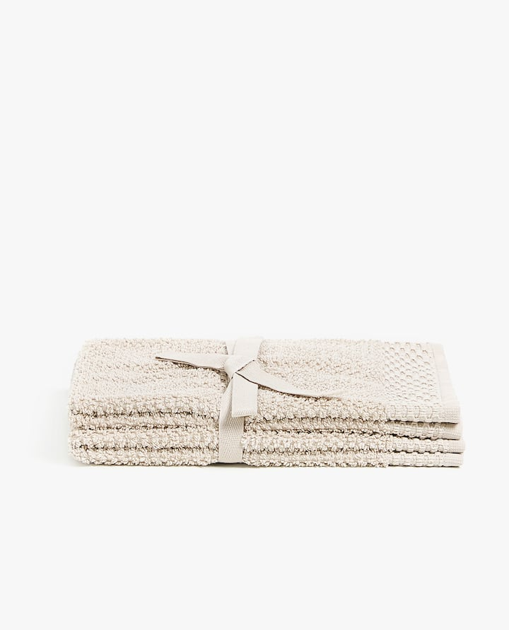 SERVIETTE DE BAIN COTON BRILLANT (LOT DE 2) ZARA HOME Prix 29.90 TND