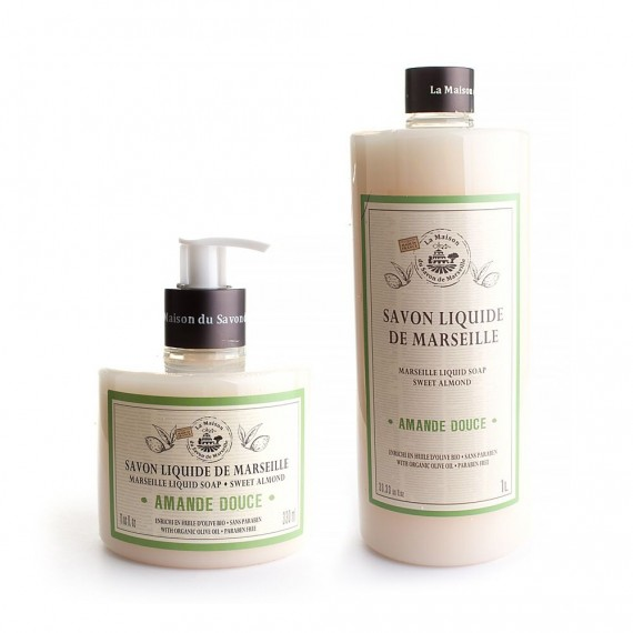 Savons Liquides de Marseille la maison du savon paris
