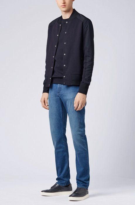 Slim-fit jeans in super-soft stretch denim HUGO BOSS