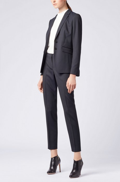 Slim-fit trousers in Italian HUGO BOSS
