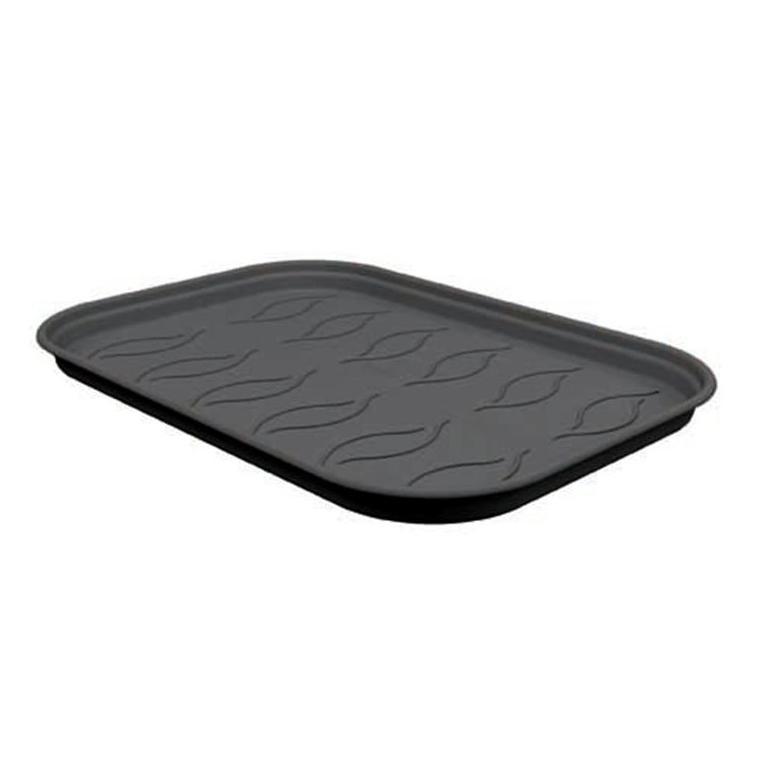 Soucoupe noire taille M pour plateau de culture 25,6 x 35,7 cm BOTANIC Prix 3.85 €