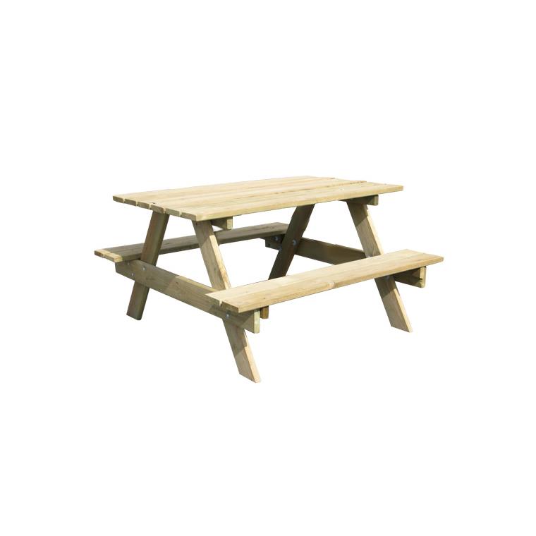 Table picnic enfant avec bancs intégrés 91x90x57 cm BOTANIC Prix 39.90 €