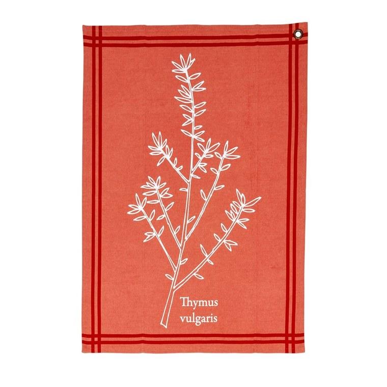 Torchon aromatique thym 50×70 cm BOTANIC Prix 5.99 €