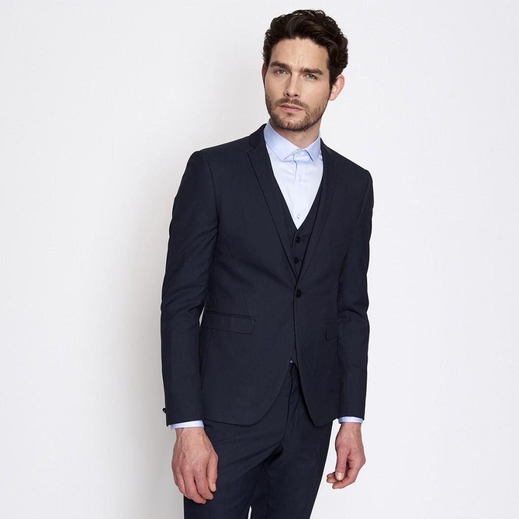 Veste de costume bleu marine Homme DEVRED Prix 99,99 €