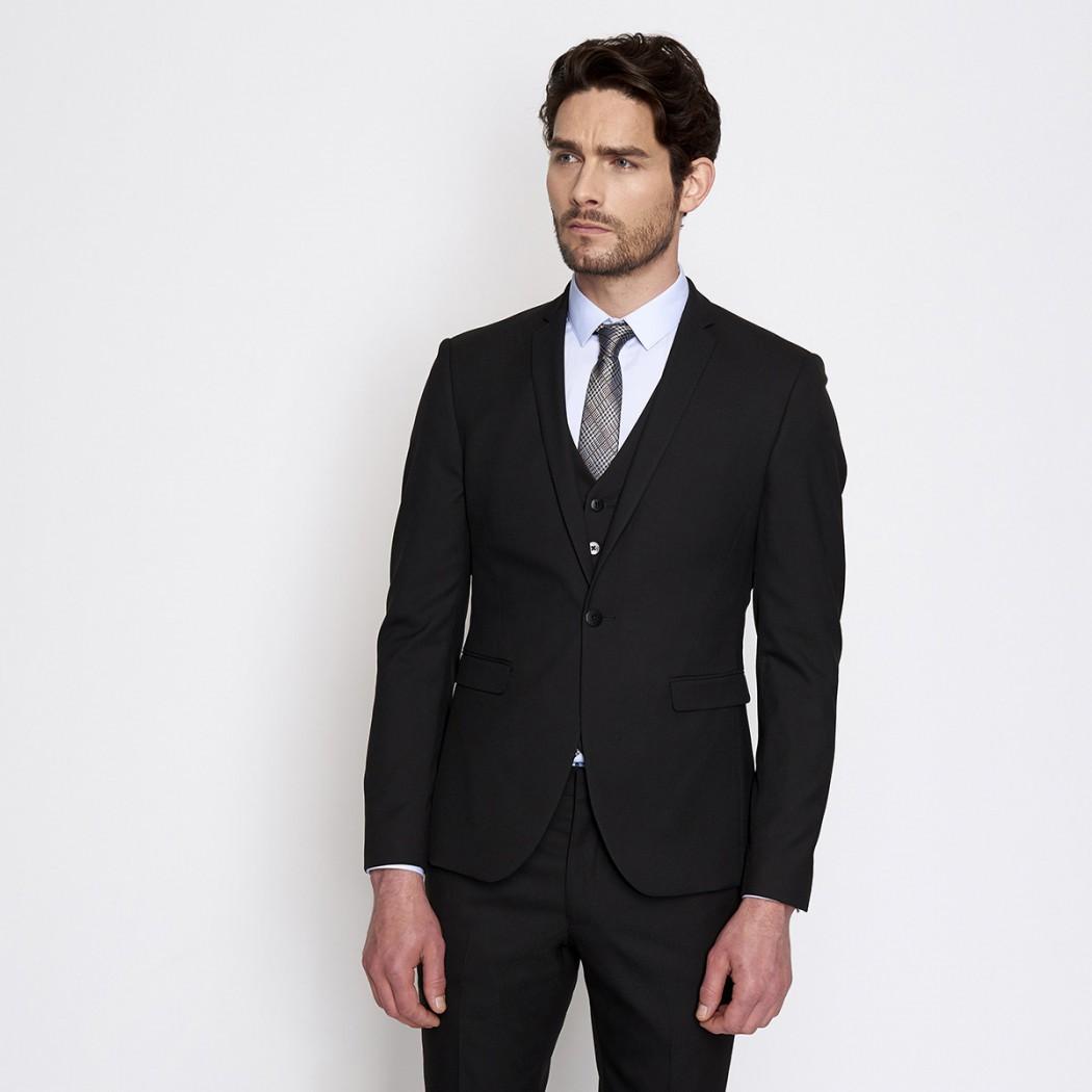 Veste de costume noir Homme DEVRED Prix 99,99 €