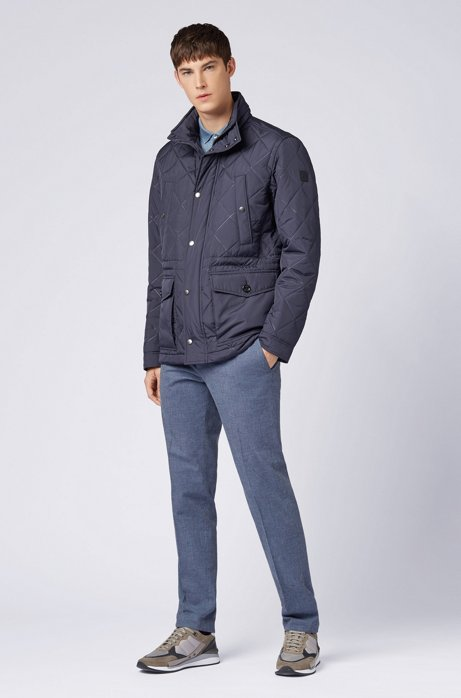 Water-repellent field jacket in ultrasonic quilted fabric HUGO BOSS 2
