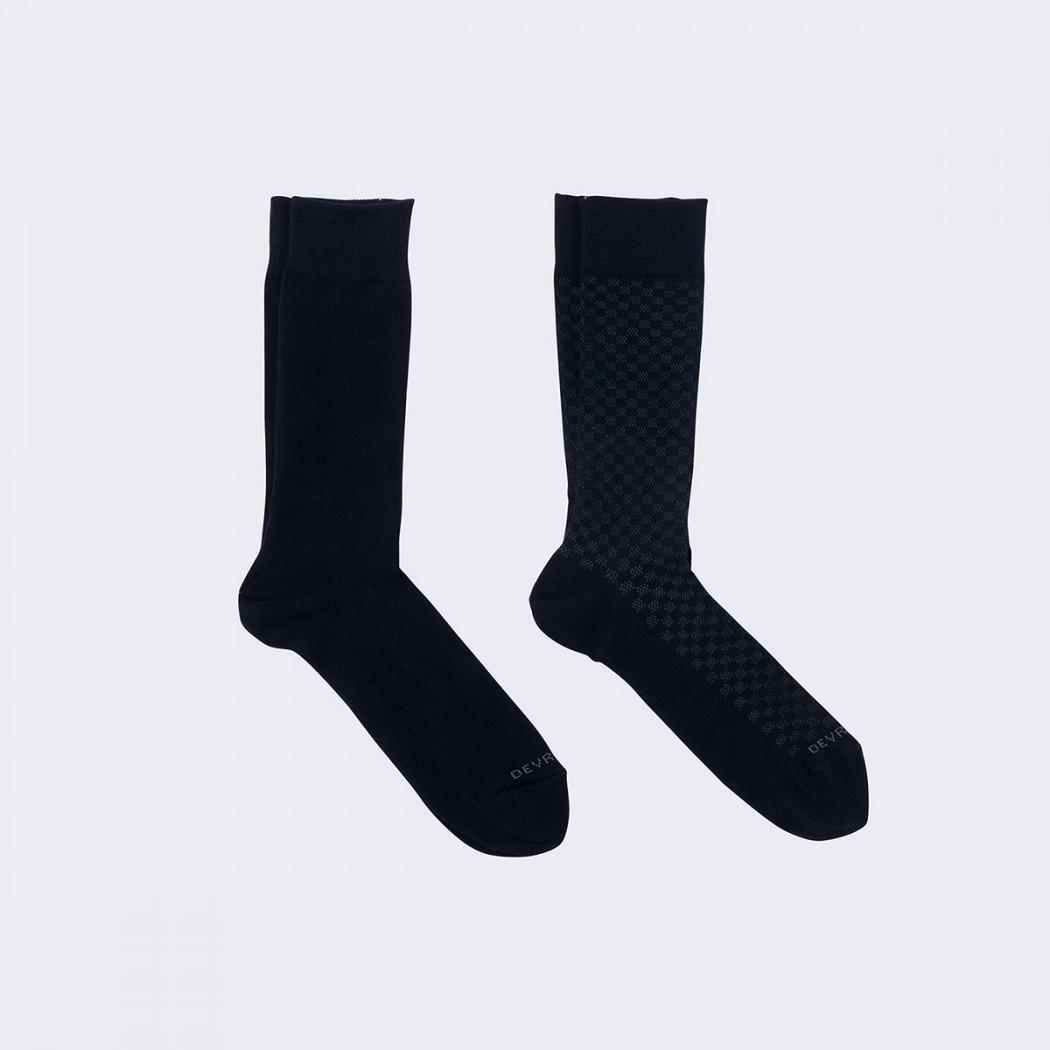 chaussettes homme à carreaux DEVRED Prix 9,99 €
