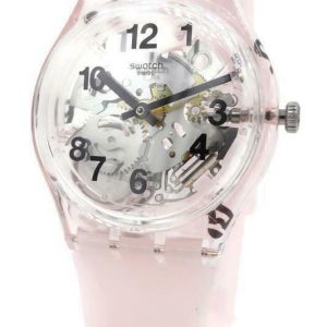 Nouvelle montre Swatch Swiss Originals PINK BOARD en silicone squelette