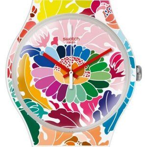 PRE-OWNED 75 $ Swatch Gent Gent Multicolor Silicone Swiss Quartz