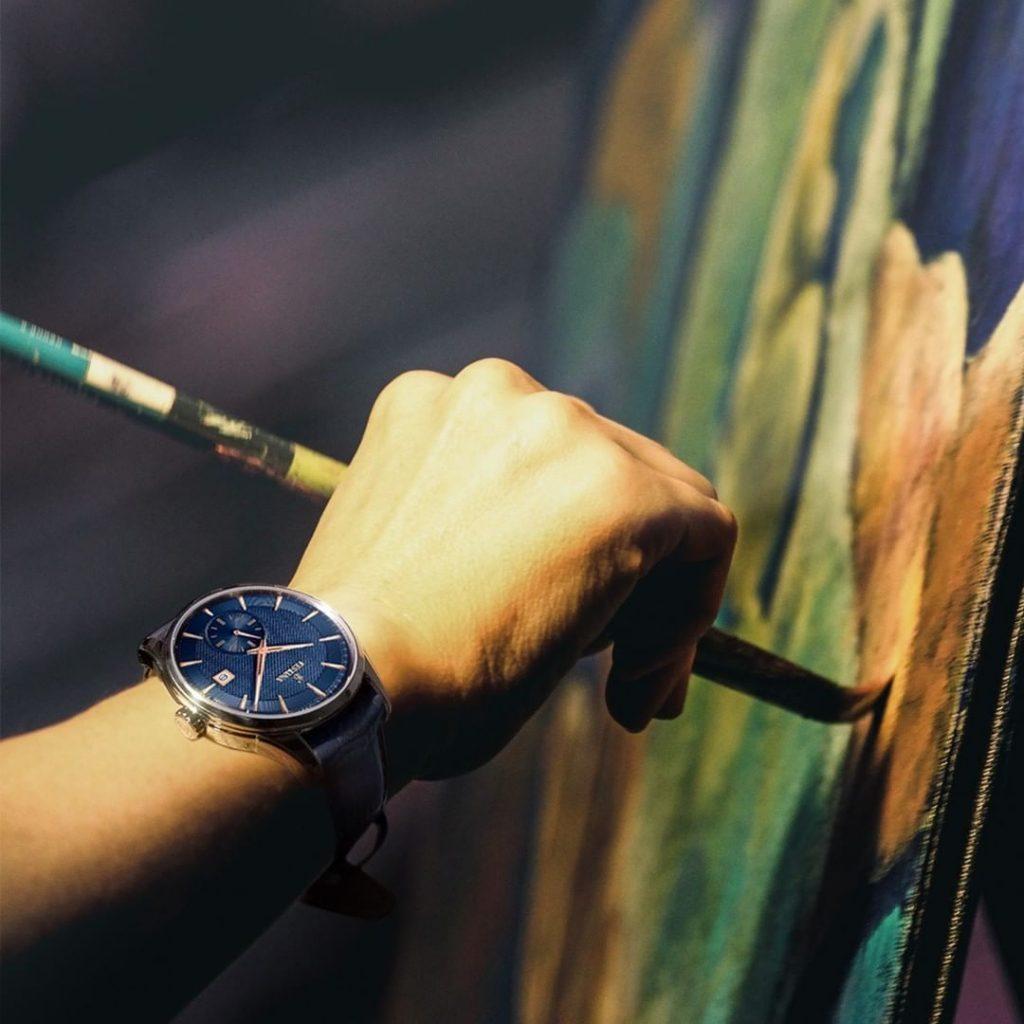 Nous savons qu'il y a des moments où le temps s'arrête, comme lorsque vous créez votre art. Nous sommes aussi là avec vous.